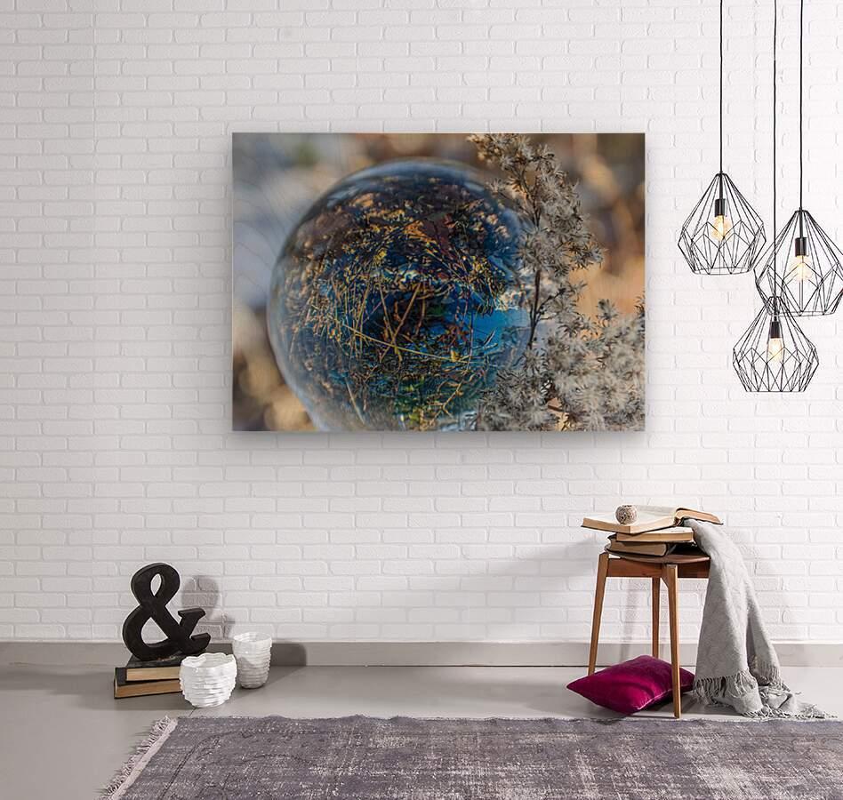 Feuillage  Wood print