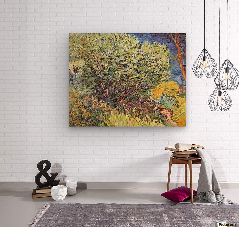 Slip Away by Van Gogh  Wood print