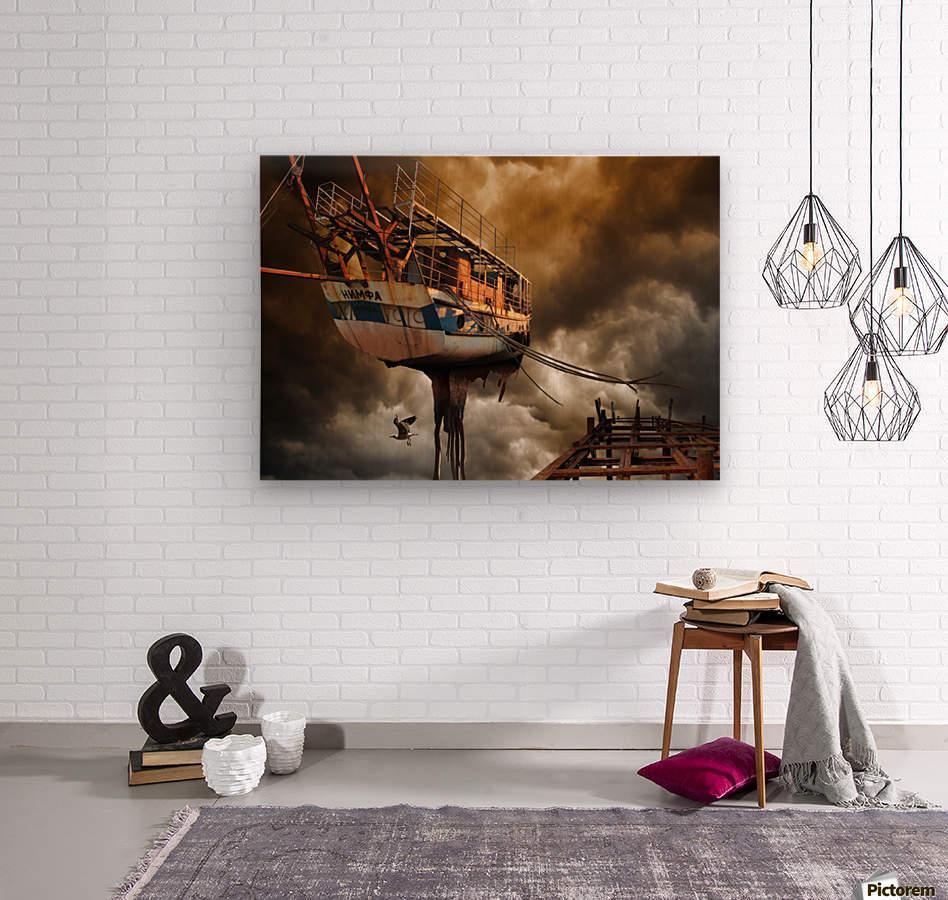 Nimfa  Wood print