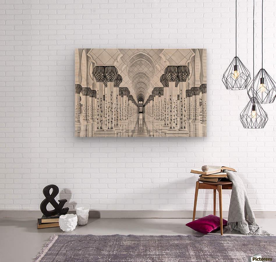 Kind of Symmetry  Impression sur bois