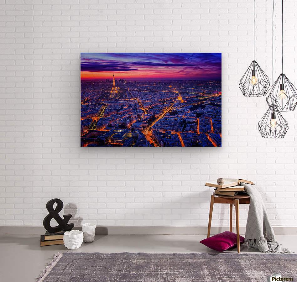 Paris I  Wood print