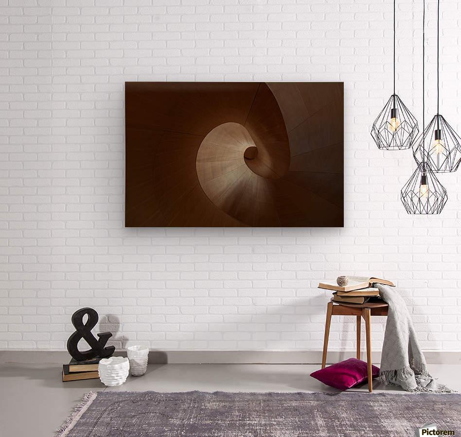 Spiral by Heather Bonadio   Impression sur bois
