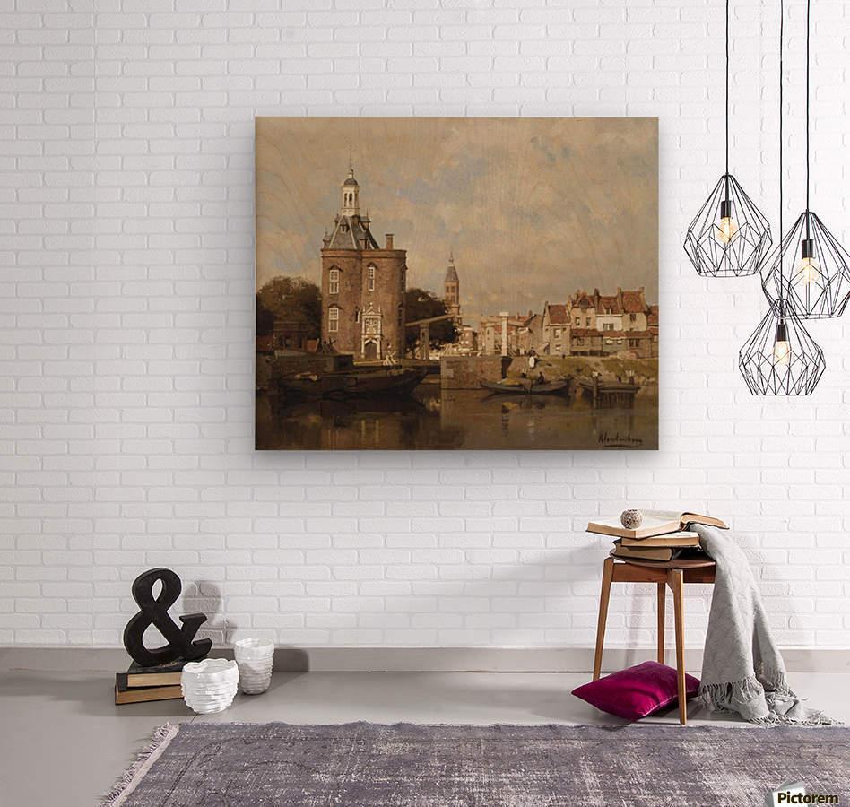 Haven van Enkhuizen  Wood print
