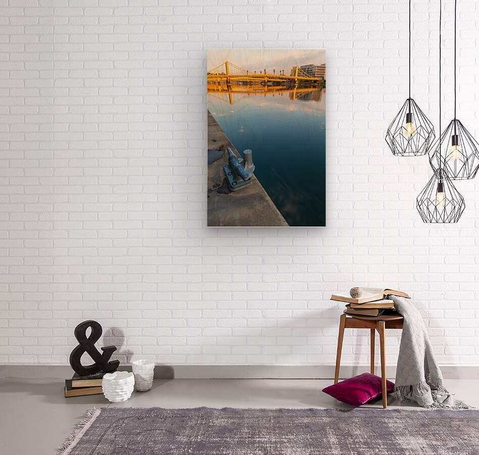 Barge Cleat ap 2877  Wood print