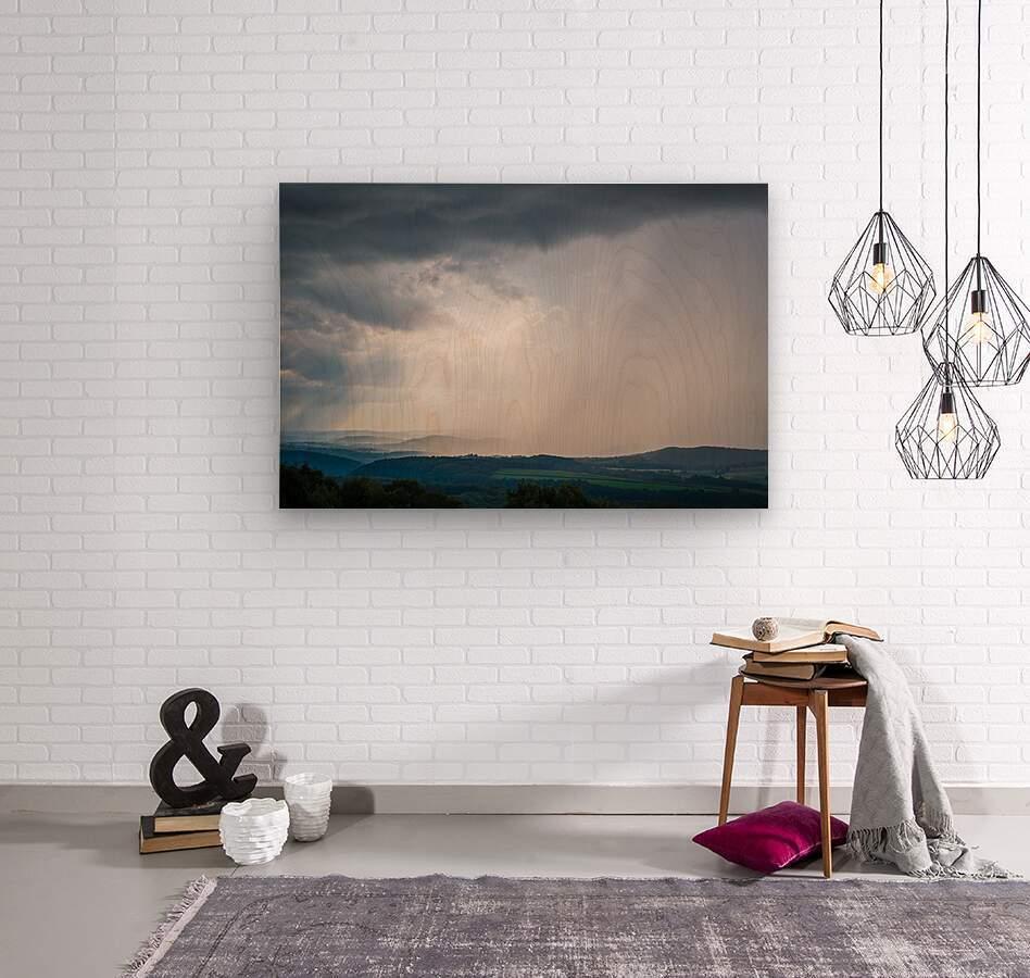 Moving Storm ap 2903  Wood print