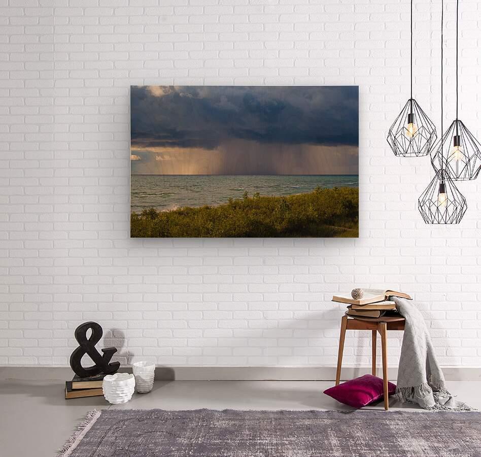 T Storm ap 2426  Wood print