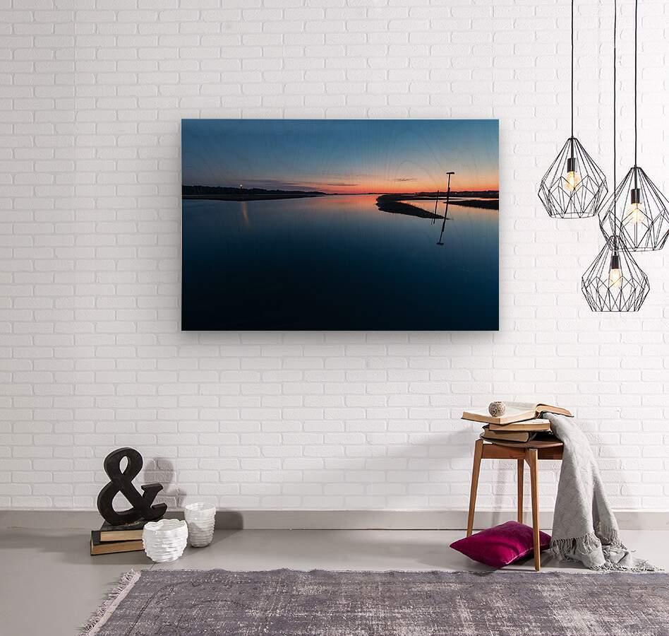 Assateague Light ap 2763  Wood print