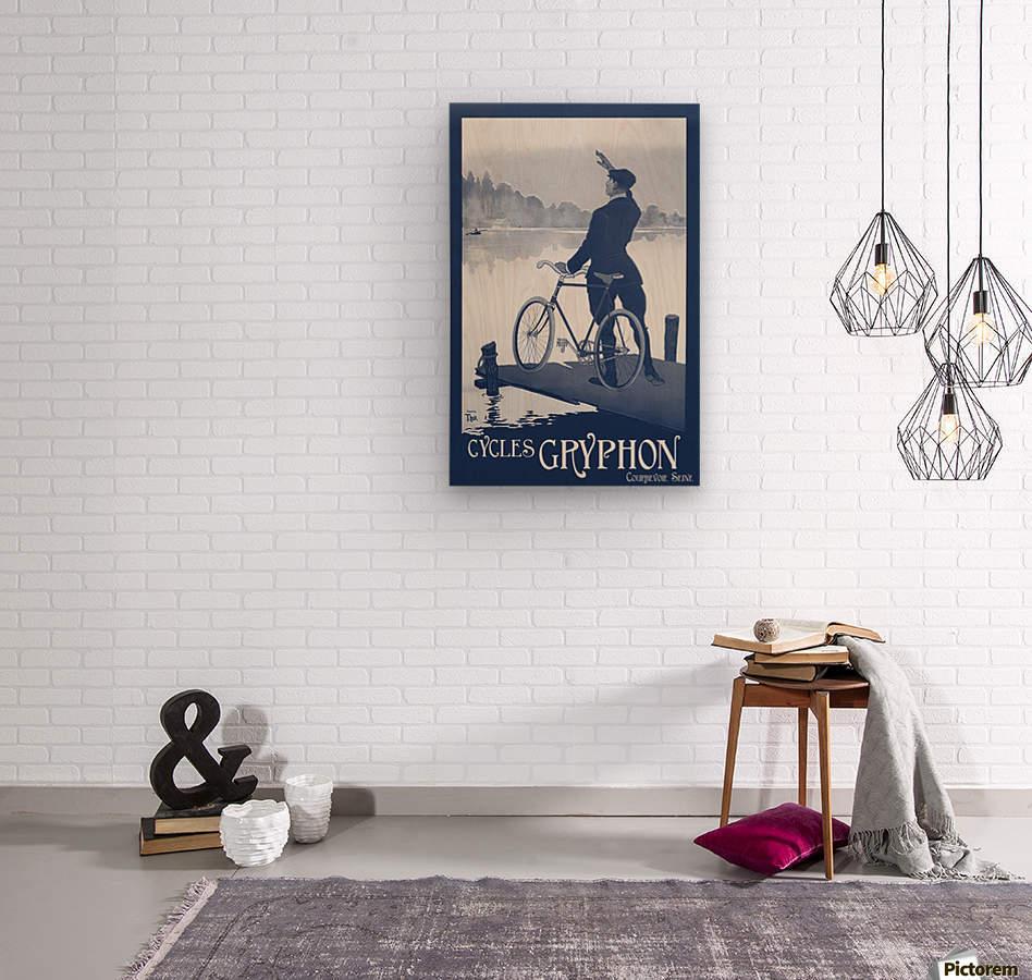 Cycles Gryphon  Wood print