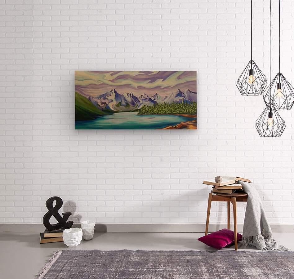 Beautiful Banff   Wood print