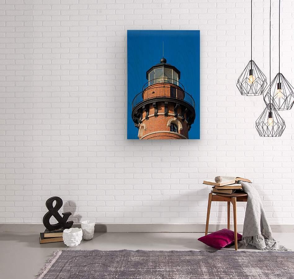Fresnel Lens ap 2444  Wood print