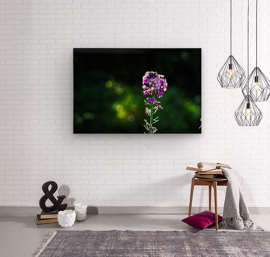 Royal Flower  Wood print