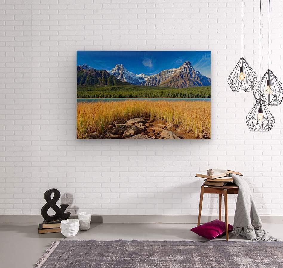 Banff National Park Alberta Canada  Wood print