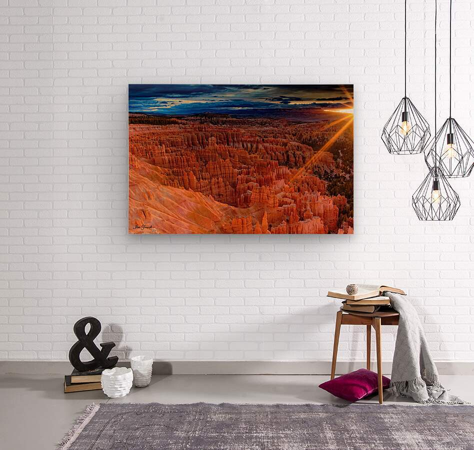 Bryce Canyon National Park Utah  Wood print