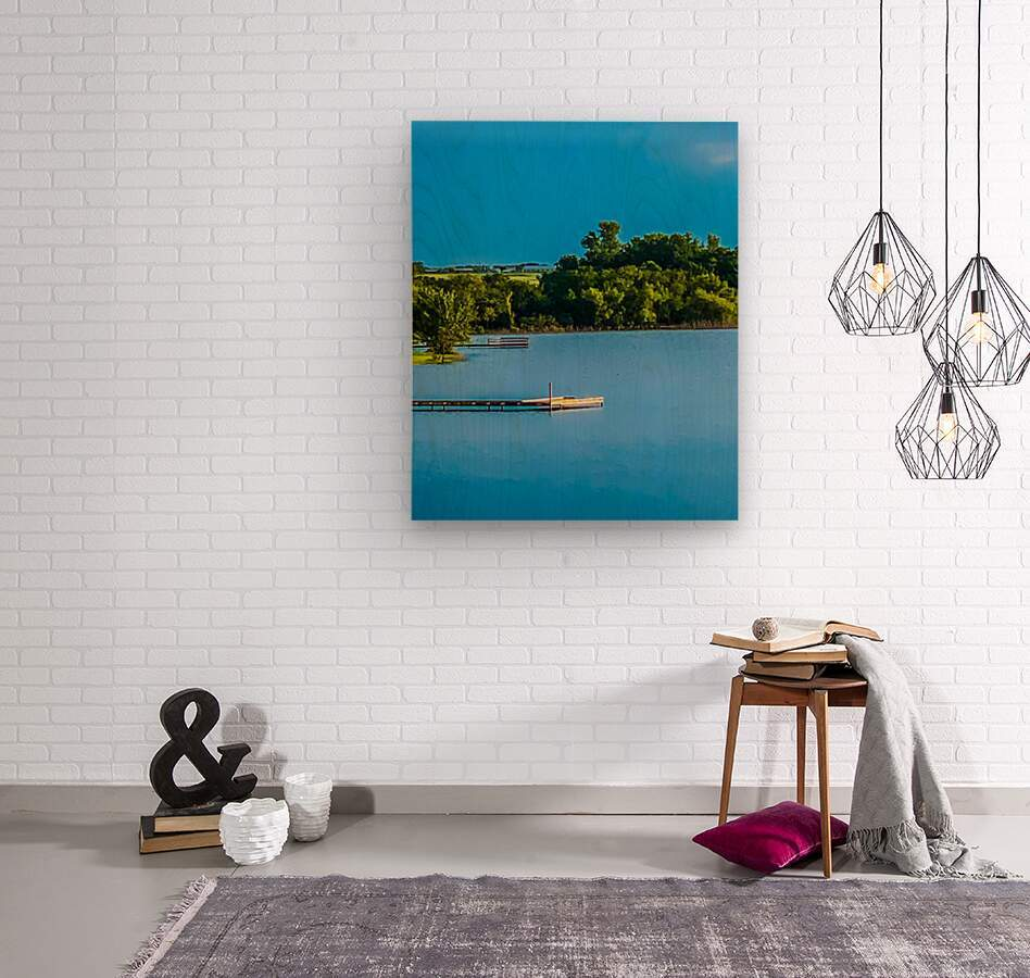 Carries Paradise  Wood print