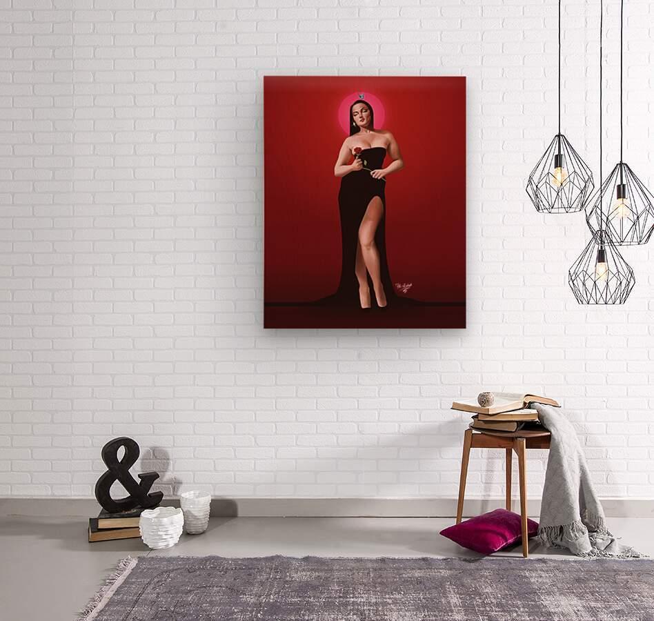 Sassy Valentine  Wood print
