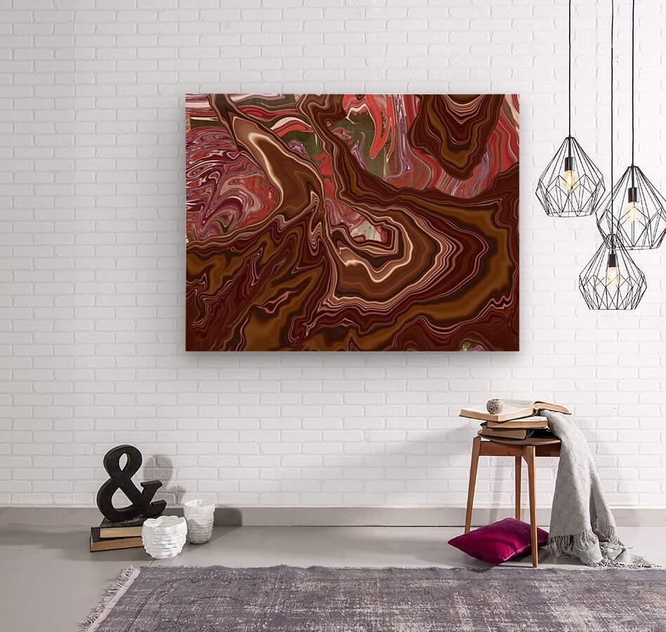 Gush  Wood print