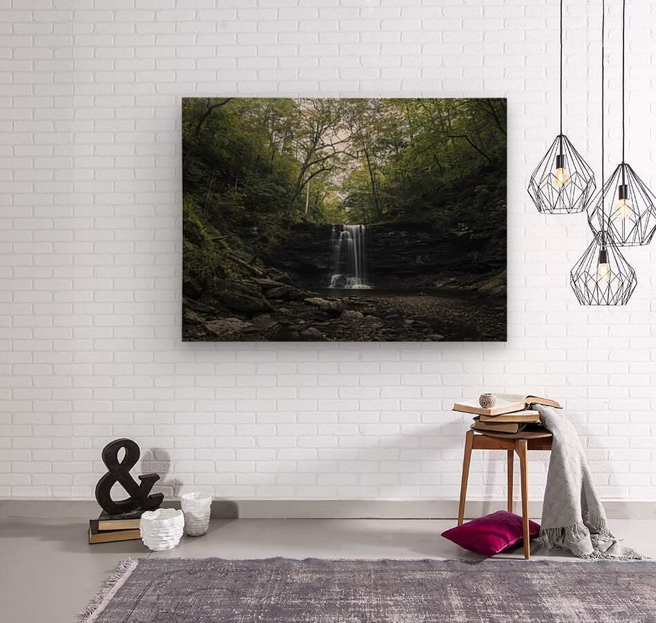 Harrison Wright Falls  Wood print