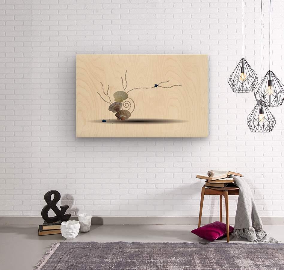 Incensed  Wood print