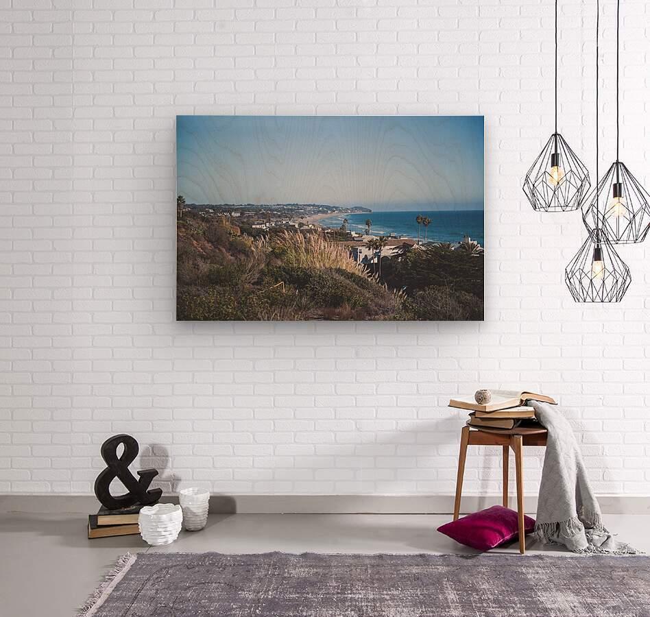 Malibu California  Wood print