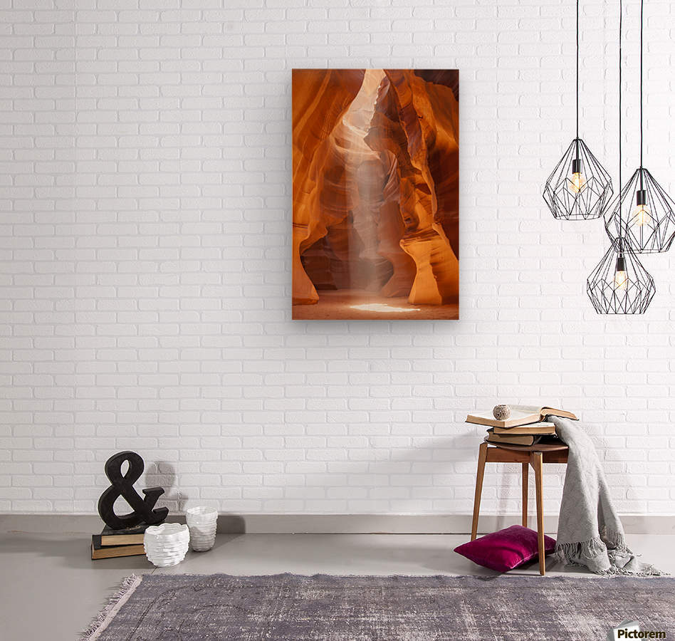 Beautiful Antelope Canyon  Wood print