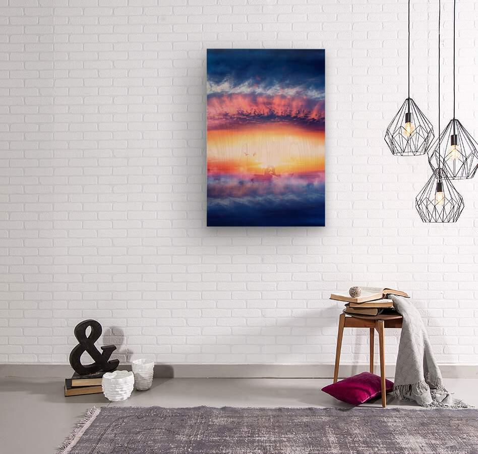 Dream Art IV  Wood print