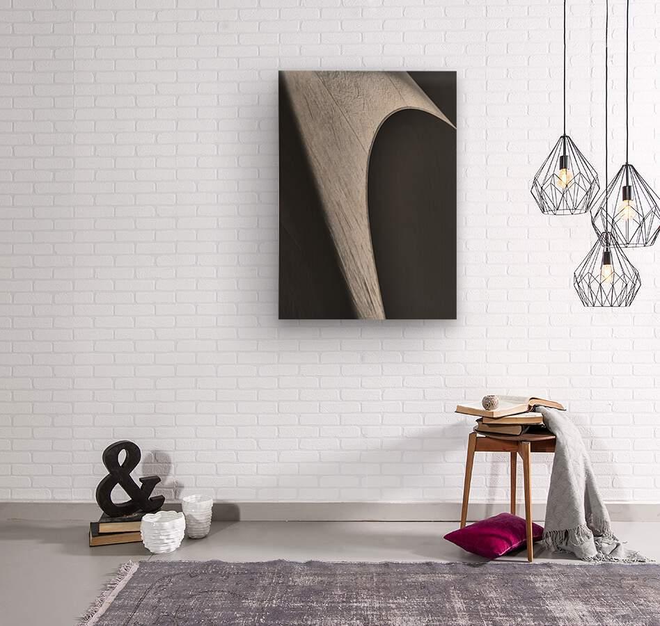 Abstract Sailcloth 12  Wood print