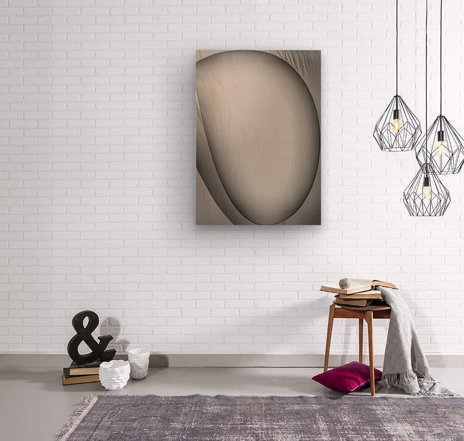 Abstract Sailcloth 6  Wood print