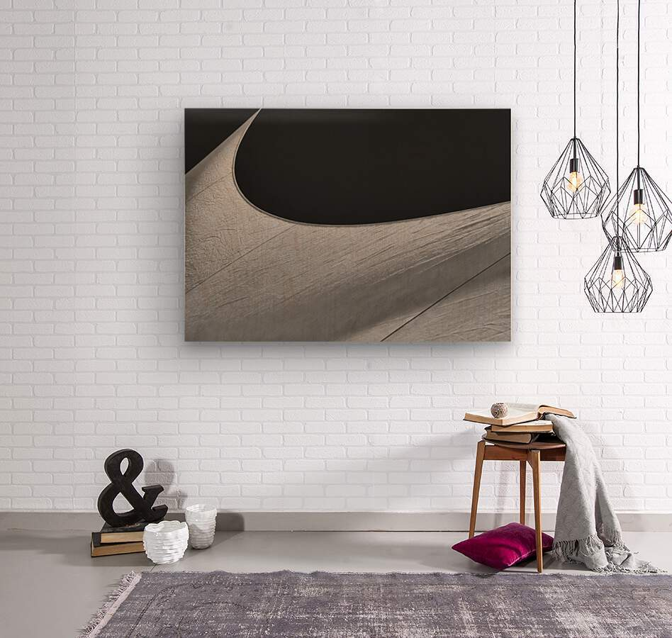 Abstract Sailcloth 19  Wood print