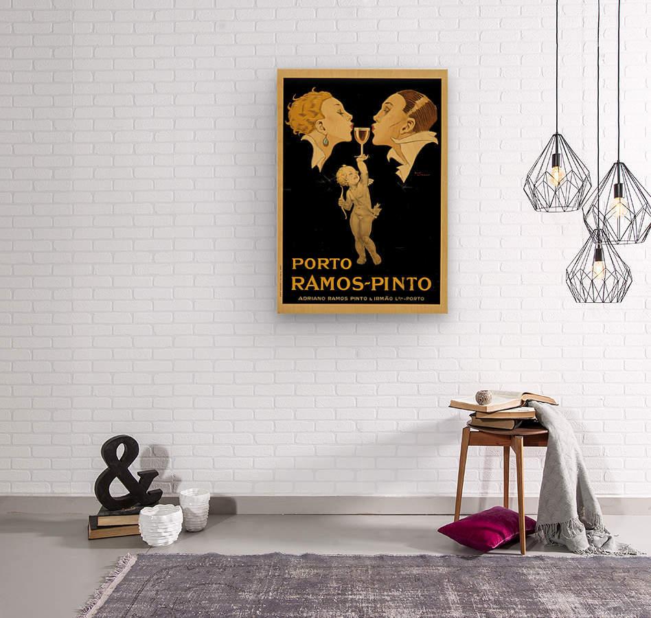 Porto Ramos - Pinto Original Poster  Wood print