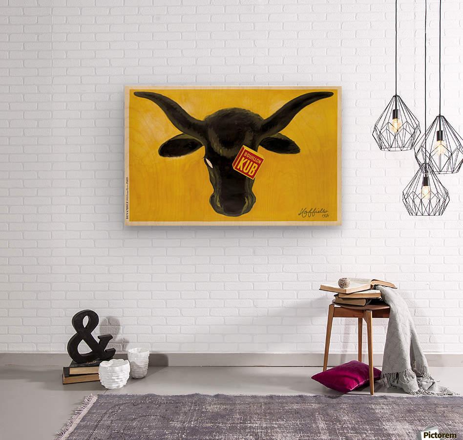 Bouillon Kub  Wood print