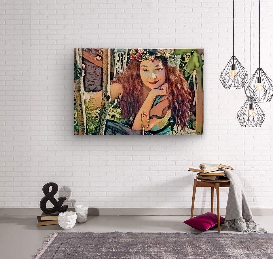 A TINY BEING WITH A BIG MISSION  Photo - Art Collection  1-6  Wood print