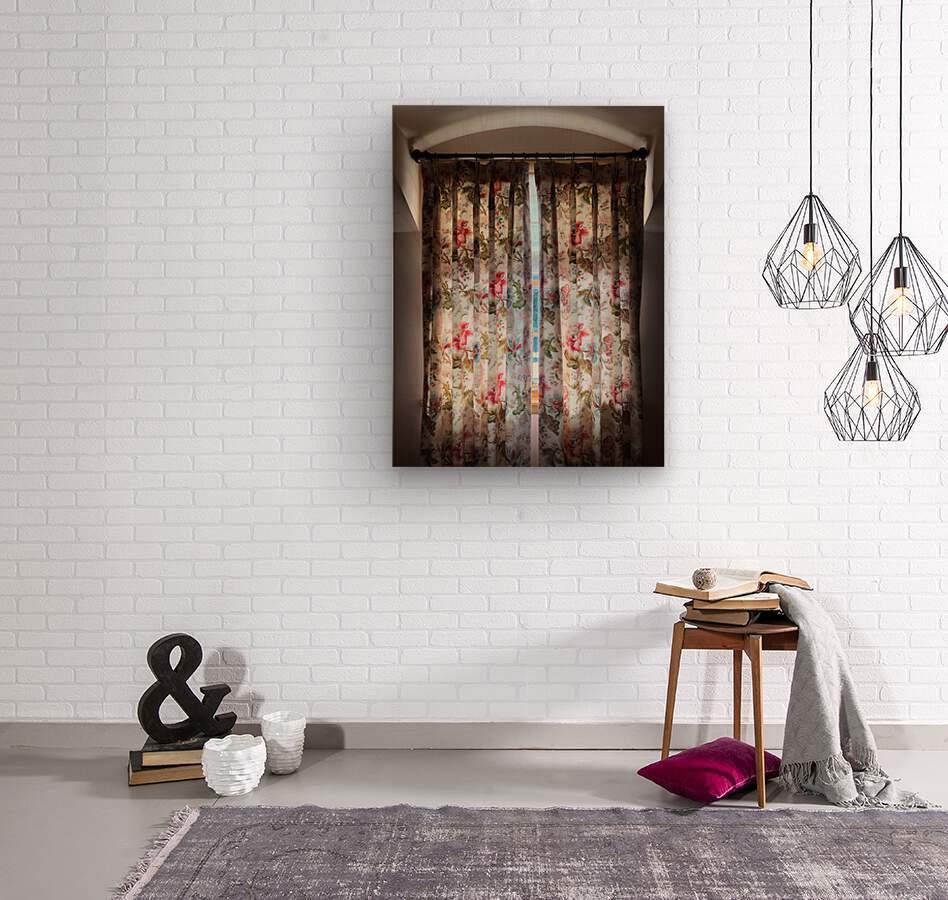 Curtain Call  Wood print