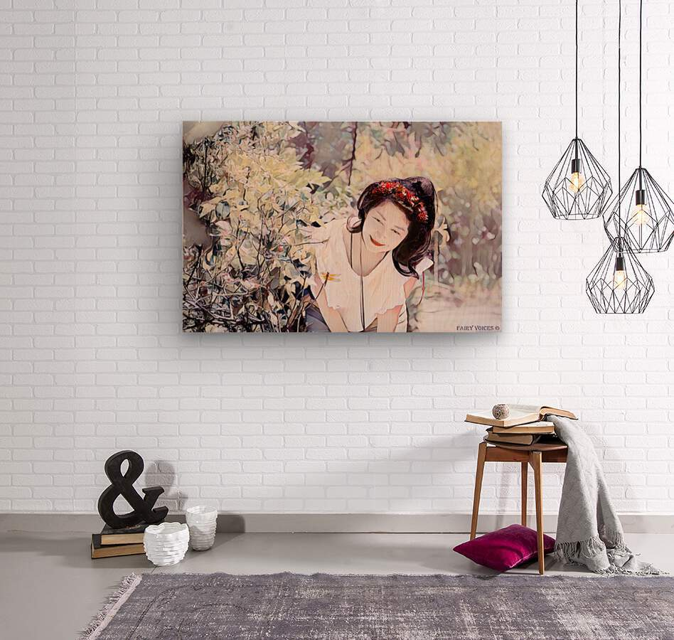 TELL ME MORE Art -Photo Collection  1-6  Wood print