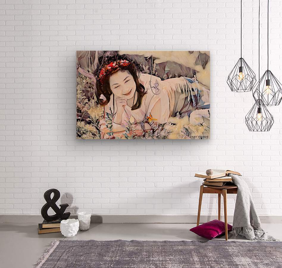 TELL ME MORE Art -Photo Collection  2-6  Wood print
