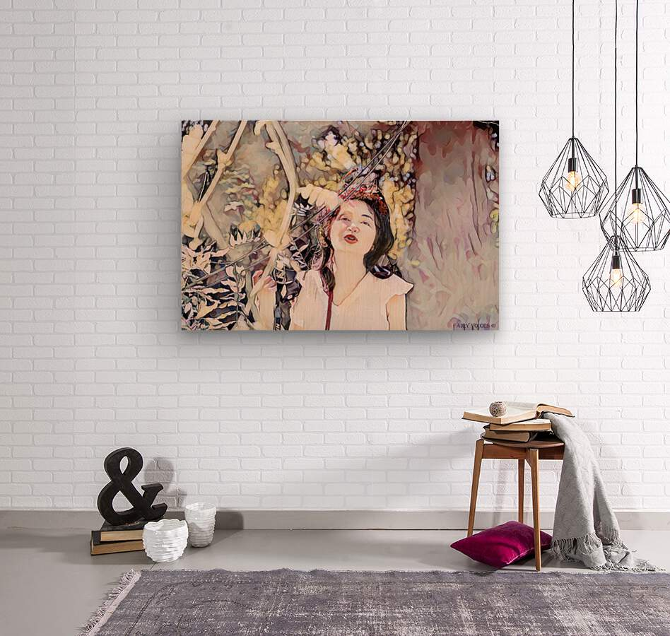 TELL ME MORE Art -Photo Collection  5-6  Wood print