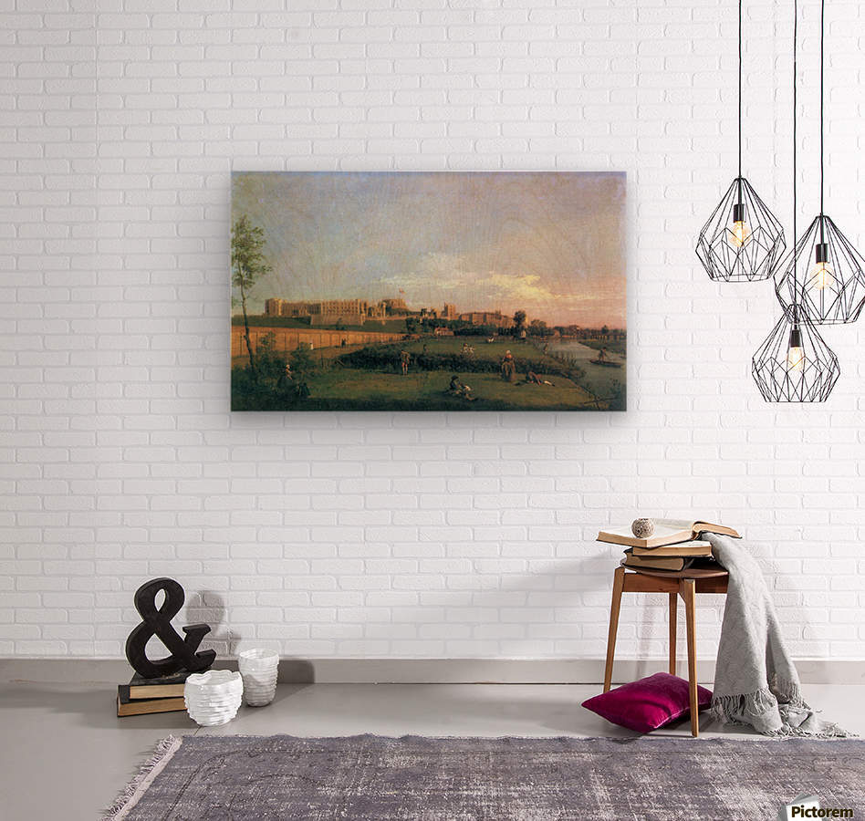 Windsor Castle by Canaletto  Wood print