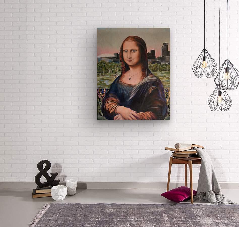 Nola Lisa   Wood print