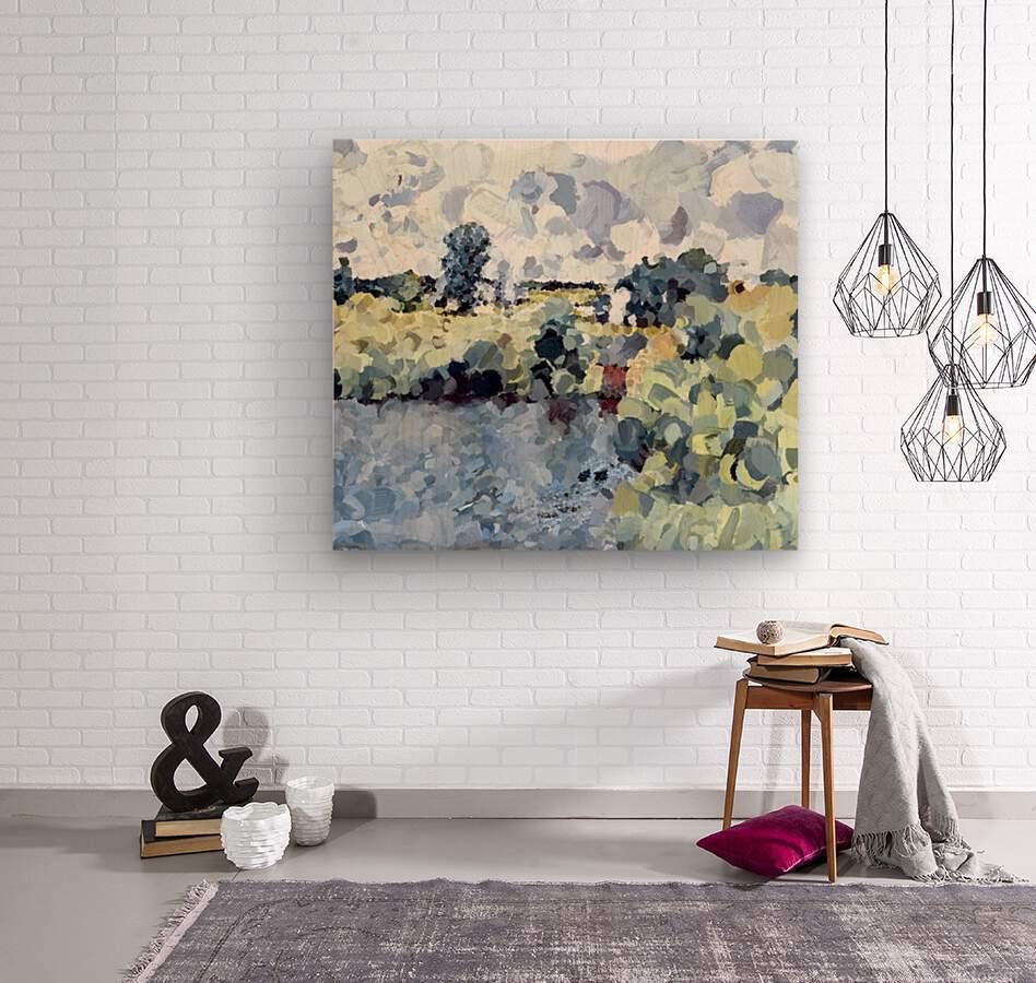 Winterthur Landscape  Wood print