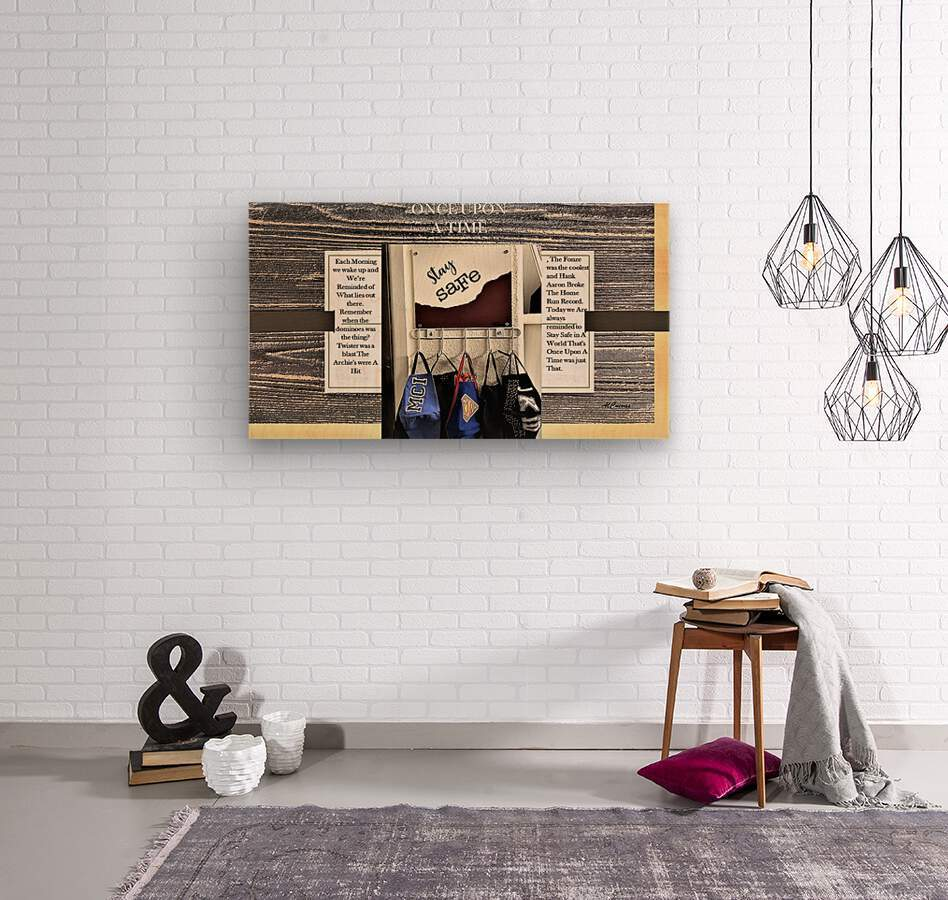 7.ONCE UPON A TIME  2   Wood print