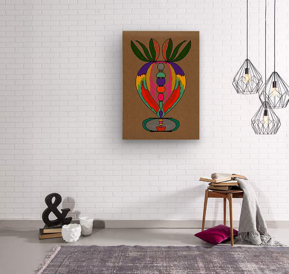 My Special Flower  Wood print