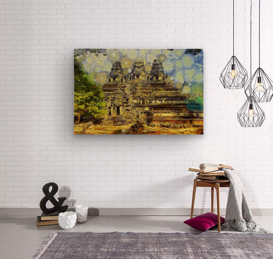 CAMBODIA 128 Angkor Wat  Siem Reap VincentHD  Wood print