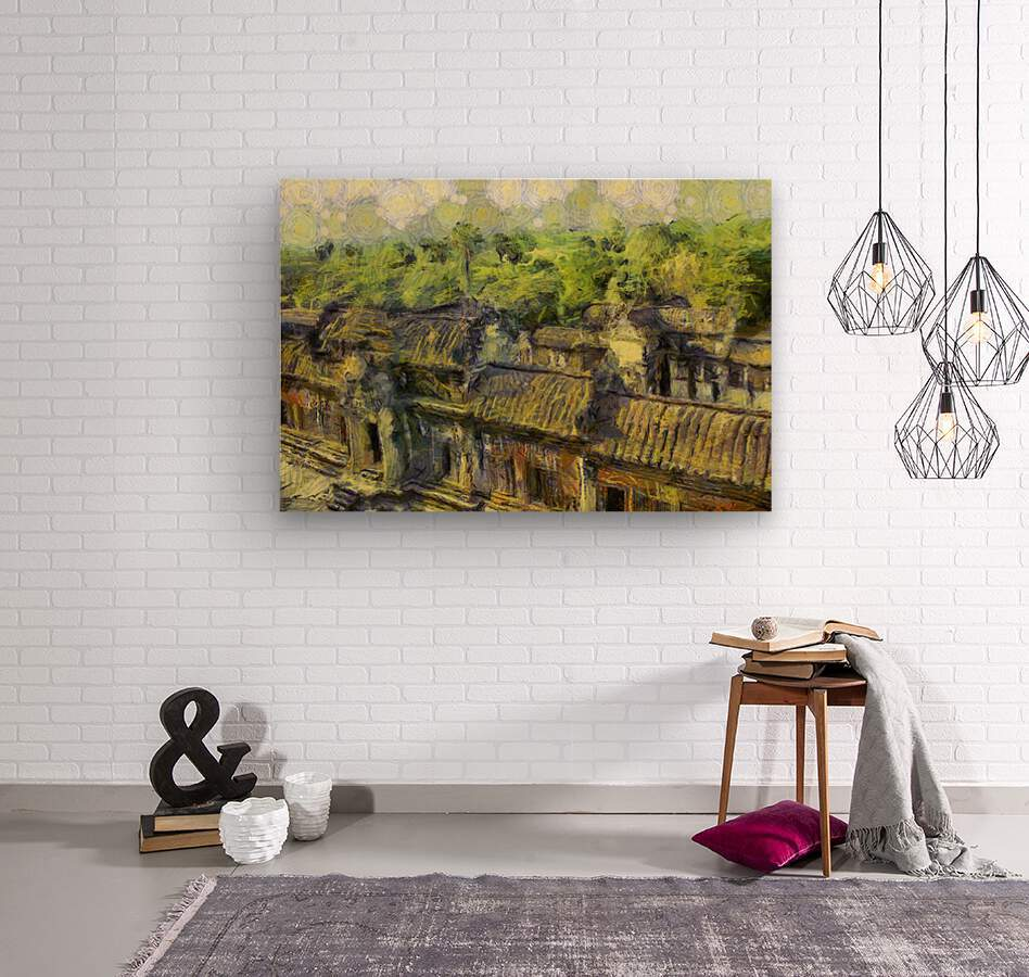 CAMBODIA 132 Angkor Wat  Siem Reap VincentHD  Wood print