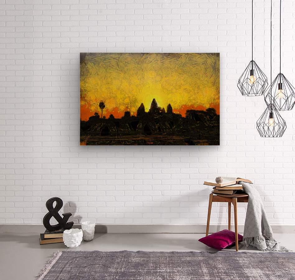 CAMBODIA 136 Angkor Wat  Siem Reap VincentHD  Wood print