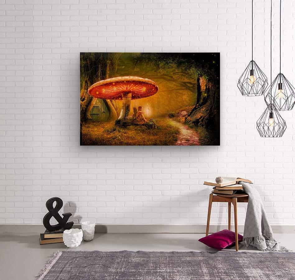 Fairy Ring  Wood print