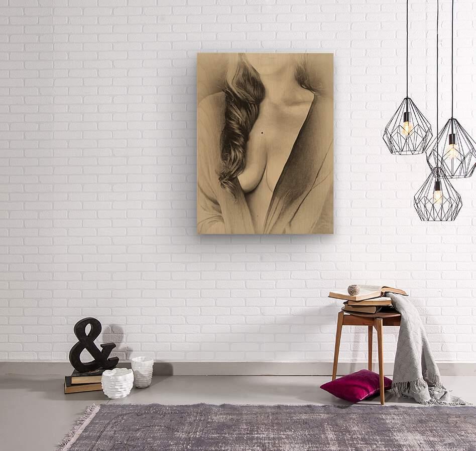 italia 1  Wood print