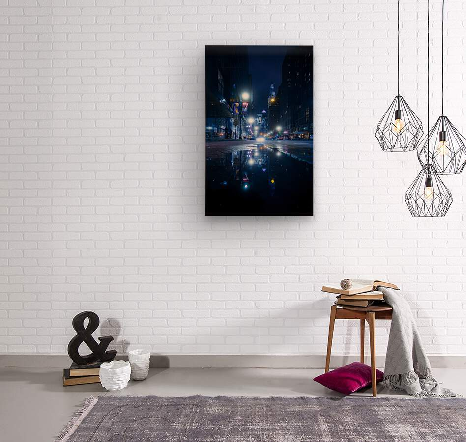 Mirrorverse  Wood print