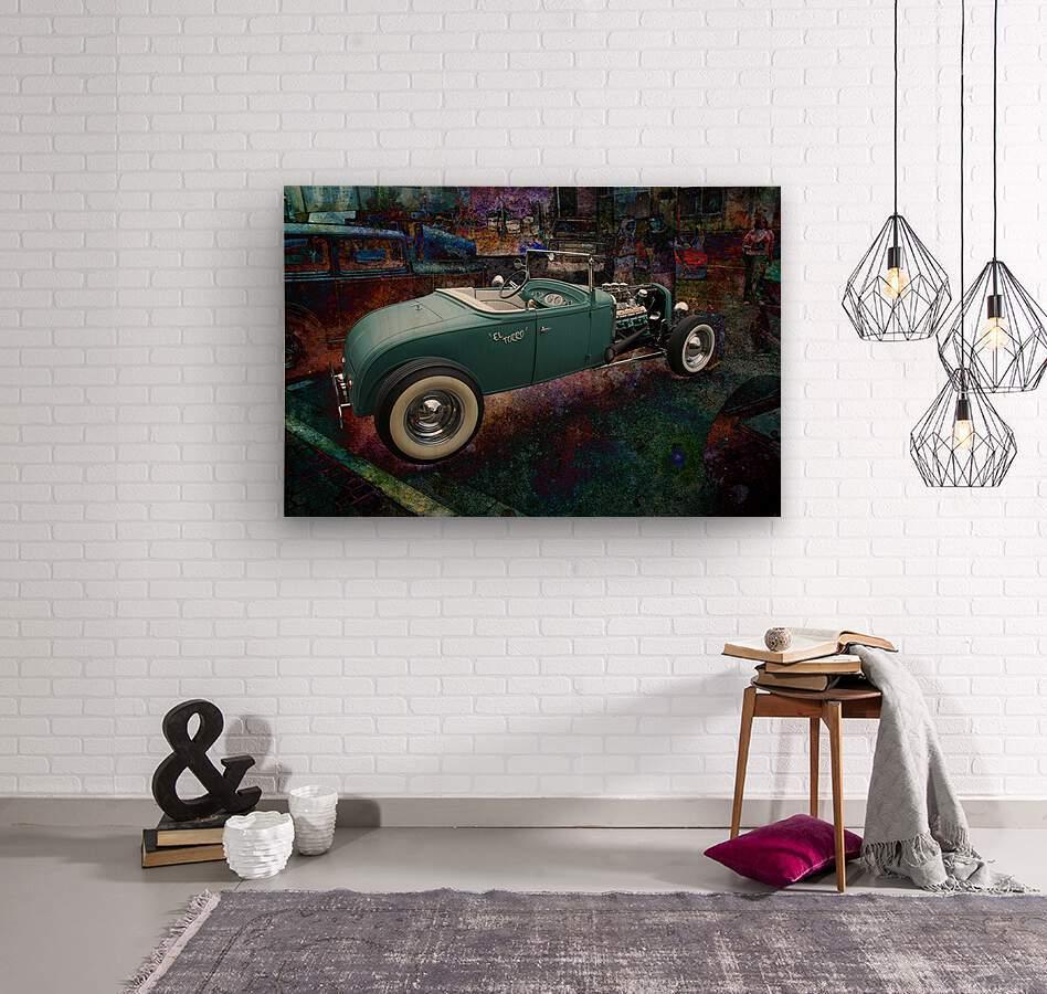 El Torro  Wood print