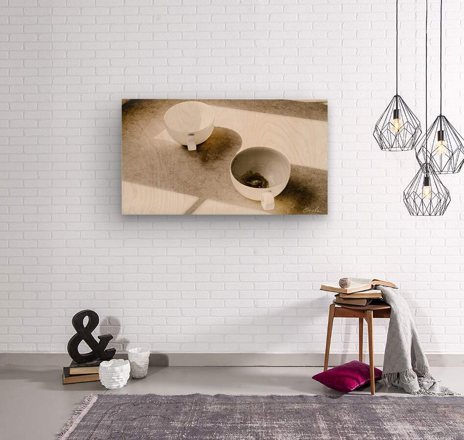 Un Amour Consomme - A Consumed Love  variation 4  Wood print