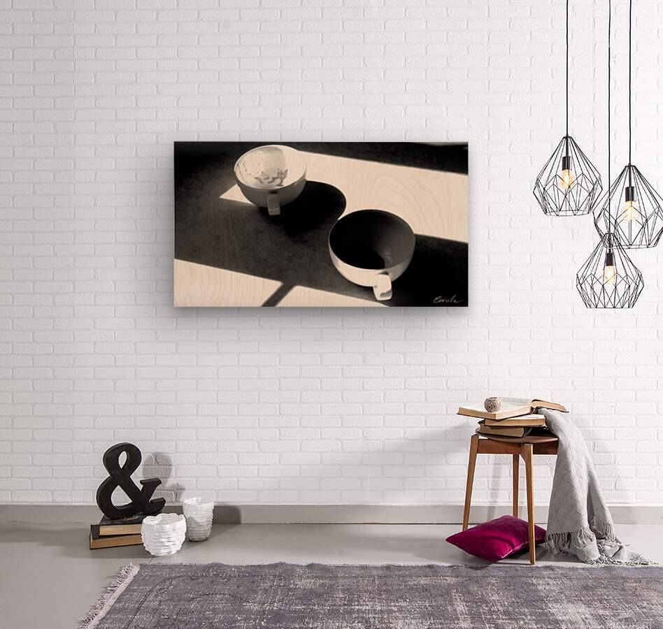 Un Amour Consomme - A Consumed Love  variation 4 NB  Wood print