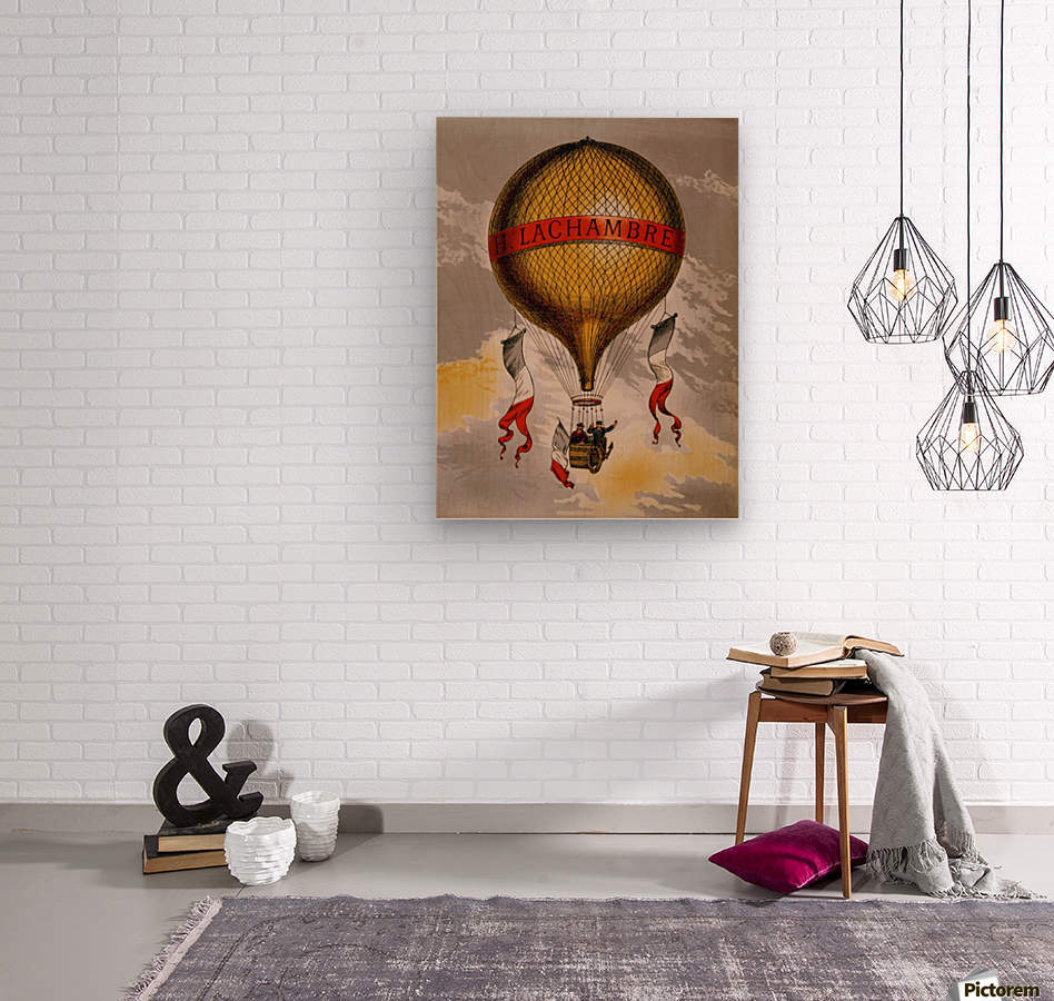 Lachambre Balloon  Wood print